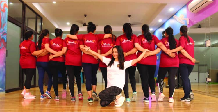 Aerobics Yug Panchkula review at Quadb Apparel Private Limited a Custom Apparel Manufacturing Brand