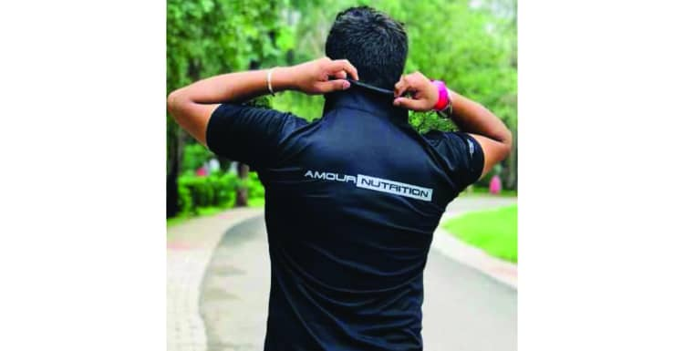 Amour Nutrition Portfolio at Quadb Apparel Private Limited a Custom Apparel Manufacturing Brand