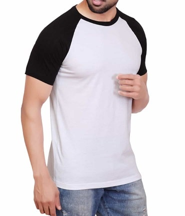 Custom Raglan Half-Sleeves T-shirts | Create your Own Custom Raglan Half-Sleeves T-shirts, Only at Quadb